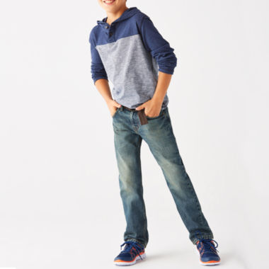 jcpenney.com | Arizona Long-Sleeve Raglan Hoodie or Belted Original-Fit Jeans - Boys 8-20