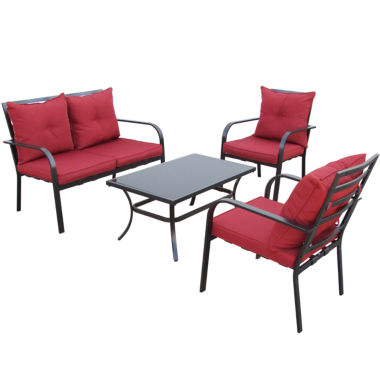 jcpenney.com | 4-pc. Patio Conversation Set