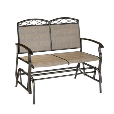 jcpenney.com | Corliving Speckled Brown Patio Double Glider