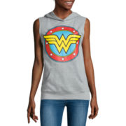 Wonder Woman Sleeveless Hoodie