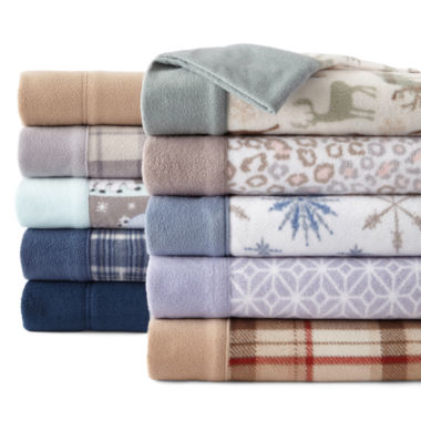 jcpenney.com | Sunbeam® Heavyweight Fleece Sheet Set