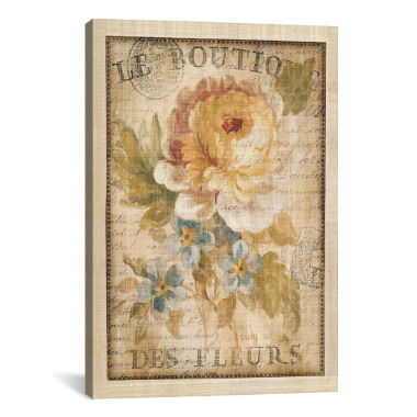 jcpenney.com | iCanvas® Parisian Flowers I By Danhui Nai Wall Art