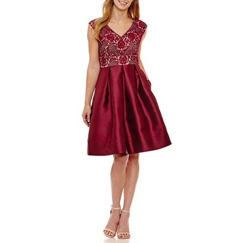 Tig Ii Sleeveless A-Line Dress-Petites