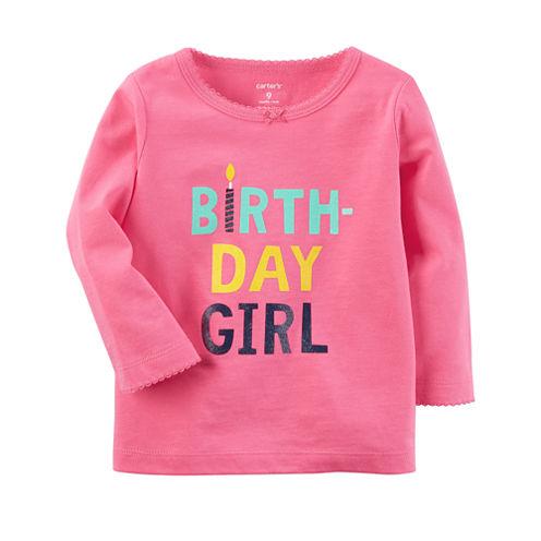 Carter's Graphic T-Shirt-Baby Girls
