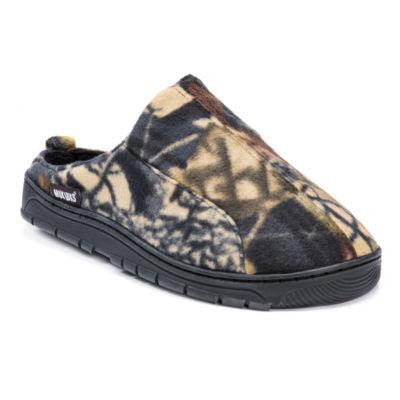 924e316100f4 MUK LUKS Camoflauge Clog Slip On Slippers
