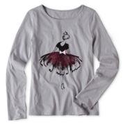 Total Girl® Long-Sleeve Tee - Girls 6-16 and Plus
