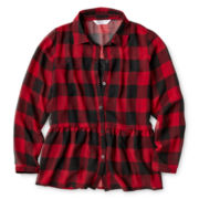 Sally M™ Sally Miller Plaid Tunic- Girls 6-16