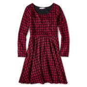 Speechless® Hatchi Skater Dress - Girls 6-16