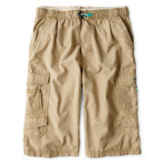 Unionbay® 360 Woven Cargo Messenger Shorts – Boys 6-18