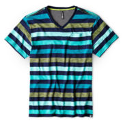 Ocean Current Striped Knit Tee – Boys 6-18