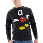 Invisible Mickey Fleece Sweatshirt