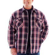 The Foundry Supply Co.™ Brawny Shirt Jacket–Big & Tall