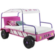 Girl's Dune Buggy Twin Bed