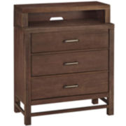 Weatherford 3-Drawer Media Chest