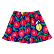 Okie Dokie® Ruffled Skort - Girls 12m-6y