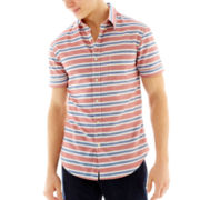 The Original Arizona Jean Co.® Short-Sleeve Woven Shirt