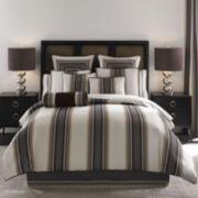 Queen Street® Platinum 4-pc. Striped Comforter Set