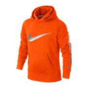 Nike® Swoosh Cotton-Blend Pullover Hoodie - Boys 8-20
