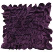 Plush Petals Decorative Pillow