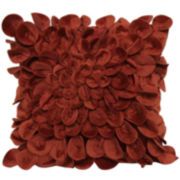 Plush Petals Decorative Pillow