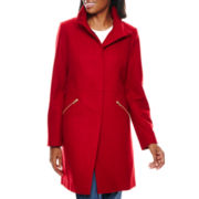 Worthington® Ladylike Wool-Blend Coat