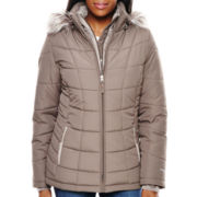Free Country® Short Puffer With Bib Coat