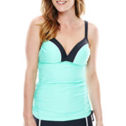 Free Country® Double-Strap Adjustable Tankini Swim Top