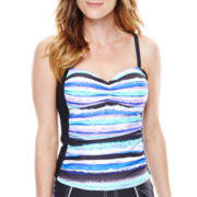 Free Country® Printed Tankini Swim Top