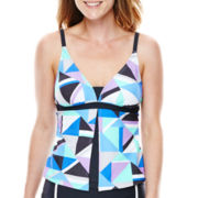 Free Country® Flyaway Tankini Swim Top