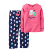 Carter's® Owl-Print Pajama Set - Preschool Girls 4-6x