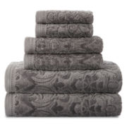 Royal Velvet® Sculpted Bath Towels