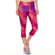 Xersion™ Allover Print Capris - Tall