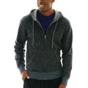 Xersion™ Cotton-Rich Fleece Full-Zip Hoodie