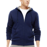 Xersion™ Cotton-Rich Fleece Full-Zip Hoodie