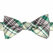 JF J. Ferrar® Oakdale Plaid Pre-Tied Bow Tie