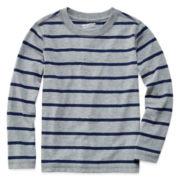 Arizona Long-Sleeve Striped Tee - Preschool Boys 4-7