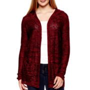 Arizona Long-Sleeve Hooded Cardigan - Plus