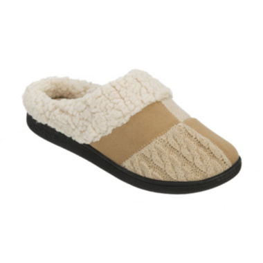 jcpenney.com | Dearfoams® Patchwork Clog Slippers
