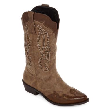 jcpenney.com | Just Dolce By Mojo Moxy Quarry Cowboy Boots