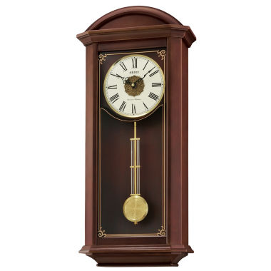 jcpenney.com | Seiko Wooden Chime Wall Clock with Pendulum Qxh065blh