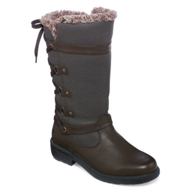 jcpenney.com | Totes Mona II Lace Back Winter Boots