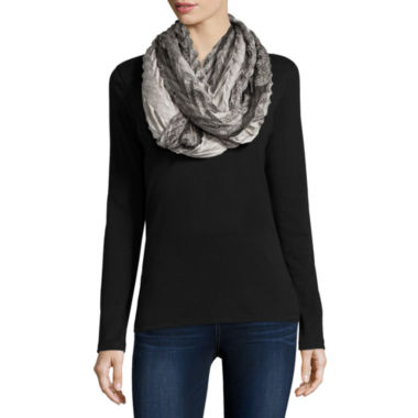 jcpenney.com | Mixit™ Paisley Pleat Loop Scarf
