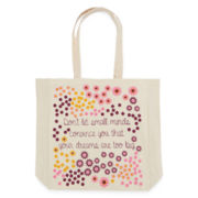 Don't Let Small Minds Canvas Tote