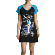 Disney Collection Short-Sleeve Tinkerbell Nightshirt