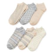 Mixit™ 6-pk. Low-Cut Socks