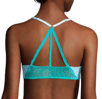 jcpenney.com | Flirtitude® My Fave Tee Lace Butterfly Back Strappy Bra