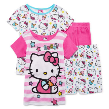 jcpenney.com | Hello Kitty® 4-pc. Sleep Set - Girls 7-16
