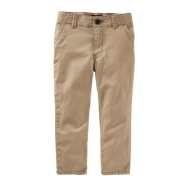 jcpenney.com | OshKosh B'gosh® Nut Shell Brown Chino Pants - Toddler Boys 2t-5t