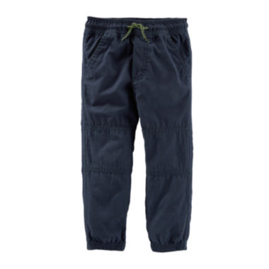 jcpenney.com | OshKosh B'gosh® Navy Woven Jogger Pants - Boys 4-14
