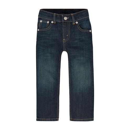 Levi's® 505™ Regular Fit Jeans - Toddler Boys 2t-4t